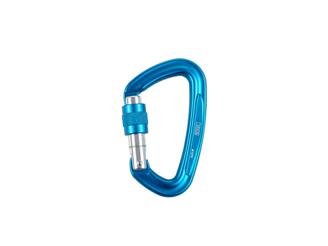 LACD D-Screw Karabinek, blue